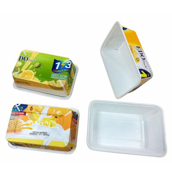 IML box mold labeling