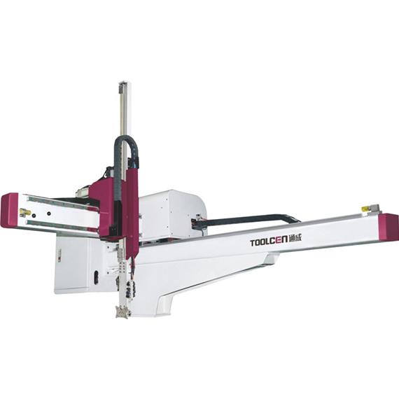 Hanging arm high speed manipulator