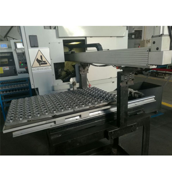 Side entry CNC lathe machine tool
