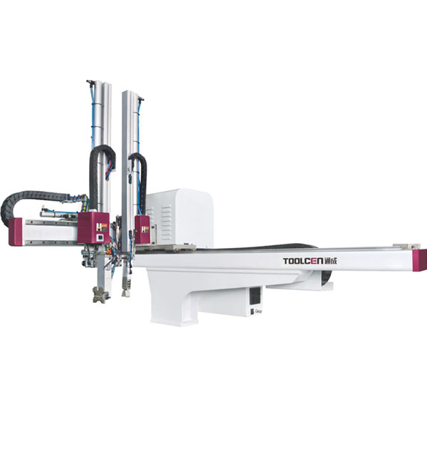 Single axis servo double arm manipulator