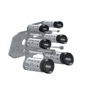 Mechanical hand fixture of bottle embryo