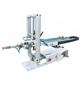 Bullhead injection molding manipulator